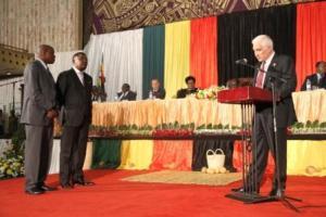 Welcoming speech for Academician Walter Mzembi